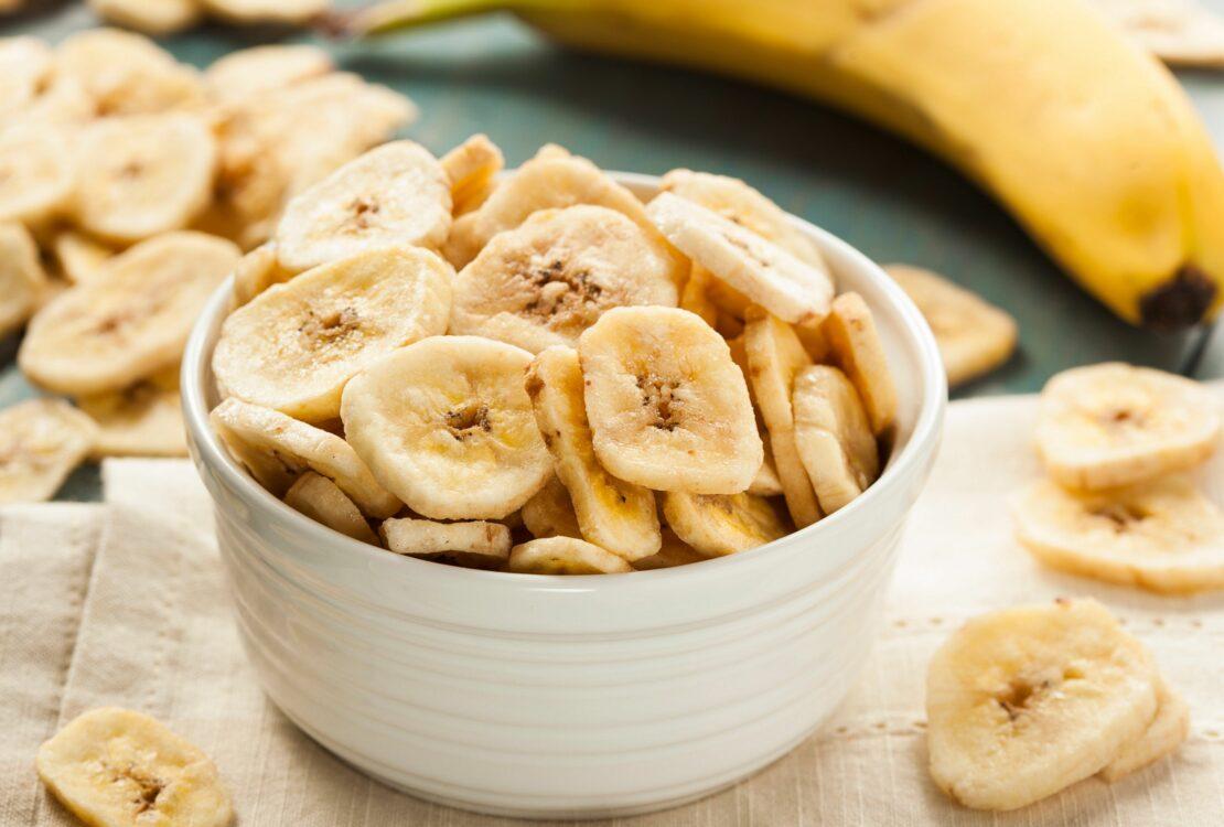 Как правильно сушить бананы