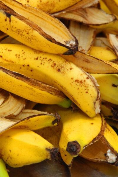 Удобрение из кожуры банана